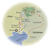 Slovenia Map